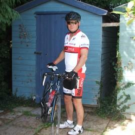 Lean mean cycling machine